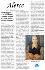 thumbnail of Alerce. Año 5, N° 43, Marzo de 2018. Director David Hevia