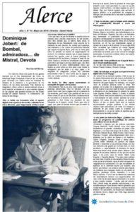 thumbnail of Alerce. Año 5, N° 45, Mayo de 2018. Director David Hevia