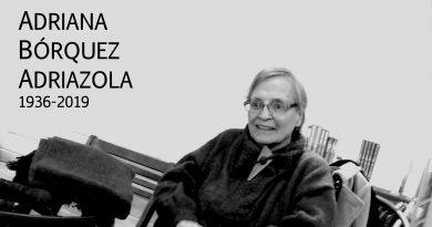 Q.E.P.D Adriana Bórquez Adriazola (1936-2019)