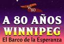 El Winnipeg, barco de la esperanza, comienza su travesía volviendo a Arica 80 años después