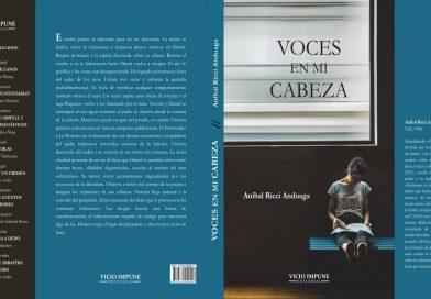 «Voces en mi cabeza»: novela de Aníbal Ricci Anduaga