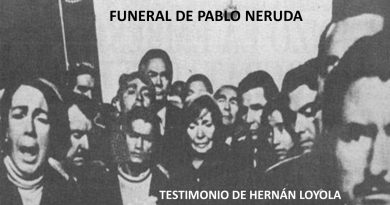TESTIMONIO PERSONAL / Hernán Loyola