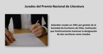 Jurados del Premio Nacional de Literatura