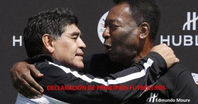 DECLARACIÓN DE PRINCIPIOS FUTBOLEROS
