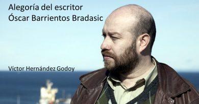Alegoría del escritor Óscar Barrientos Bradasic
