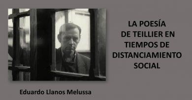 la poesía de Teillier EN TIEMPOS DE DISTANCIAMIENTO SOCIAL