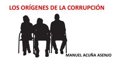 LOS ORÍGENES DE LA CORRUPCIÓN